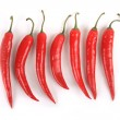 Stock Photo: Collection of peppers