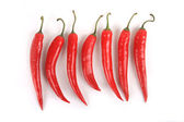 Collection of peppers — Foto de Stock