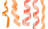 Collection of decorative ribbons — Foto Stock