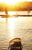 Nil tekneler — Stok fotoğraf