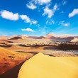 Sand desert — Stock Photo