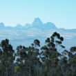 Mountain peak Kenya — Stock Photo #2099088