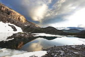 High mountains lake — Stock Photo