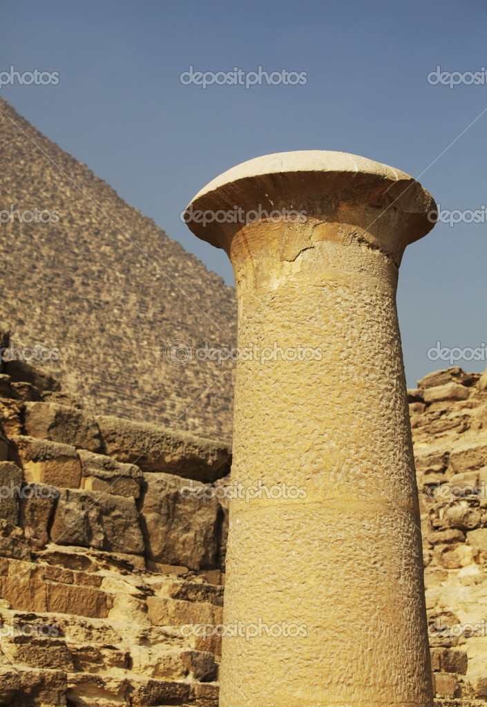 Egyptian pyramid  Stock Photo #2100184