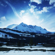 Stock Photo: Winter in mountains