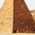 Pyramids in Sudan — Stock Photo