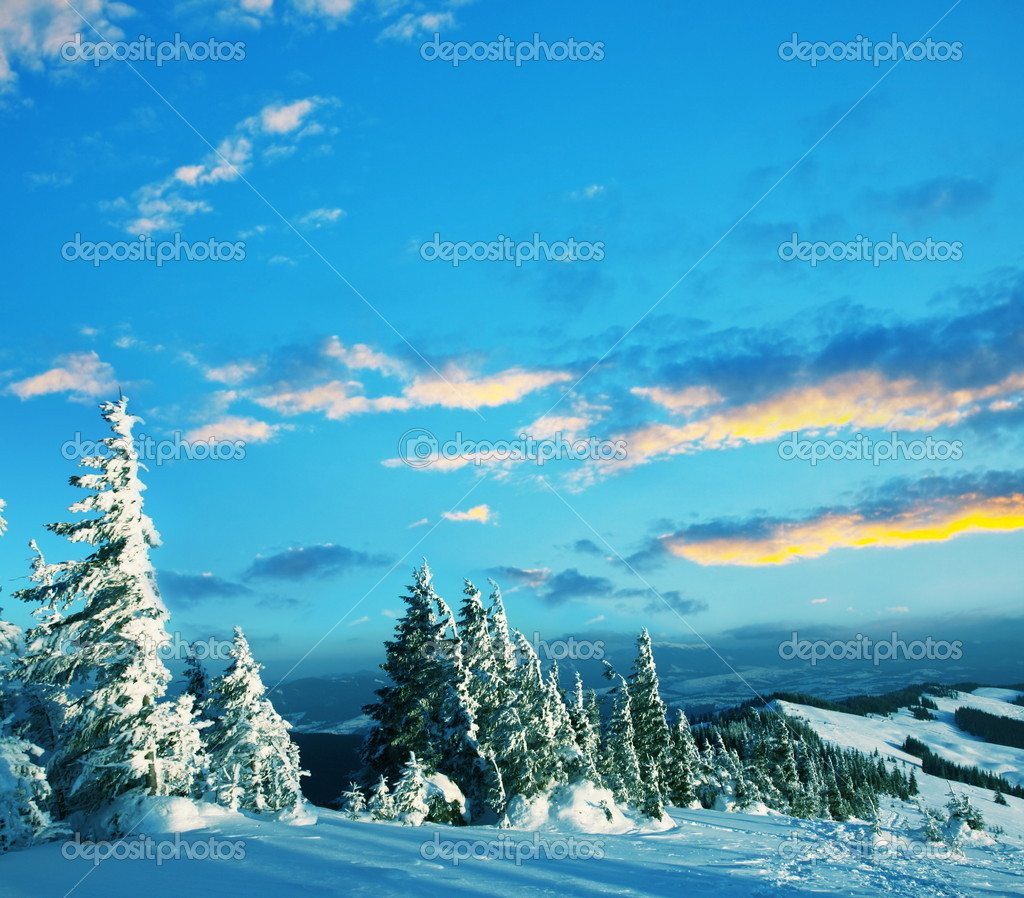 Winter mountains  Stock Photo #2114249