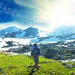 Hike in mountains — Stock Photo #2244536