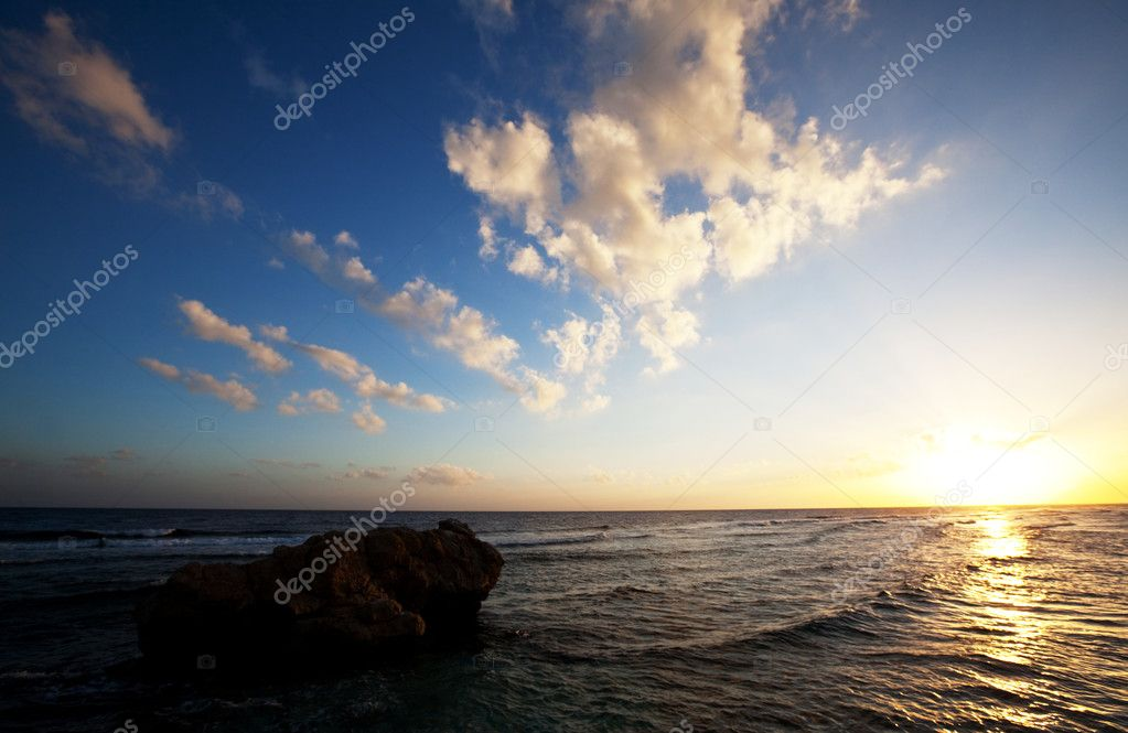 Sea sunset — Stock Photo #2362639