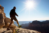 Hiker — Stock Photo
