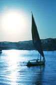 Boat on Nile — Stock Photo