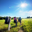 Summer hiking — Stock Photo #2515670