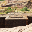 Lalibela church — Stock Photo