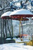 Inverno no parque — Foto Stock