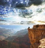 гранд-каньон — Стоковое фото