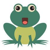 Vector frog — Stock Vector
