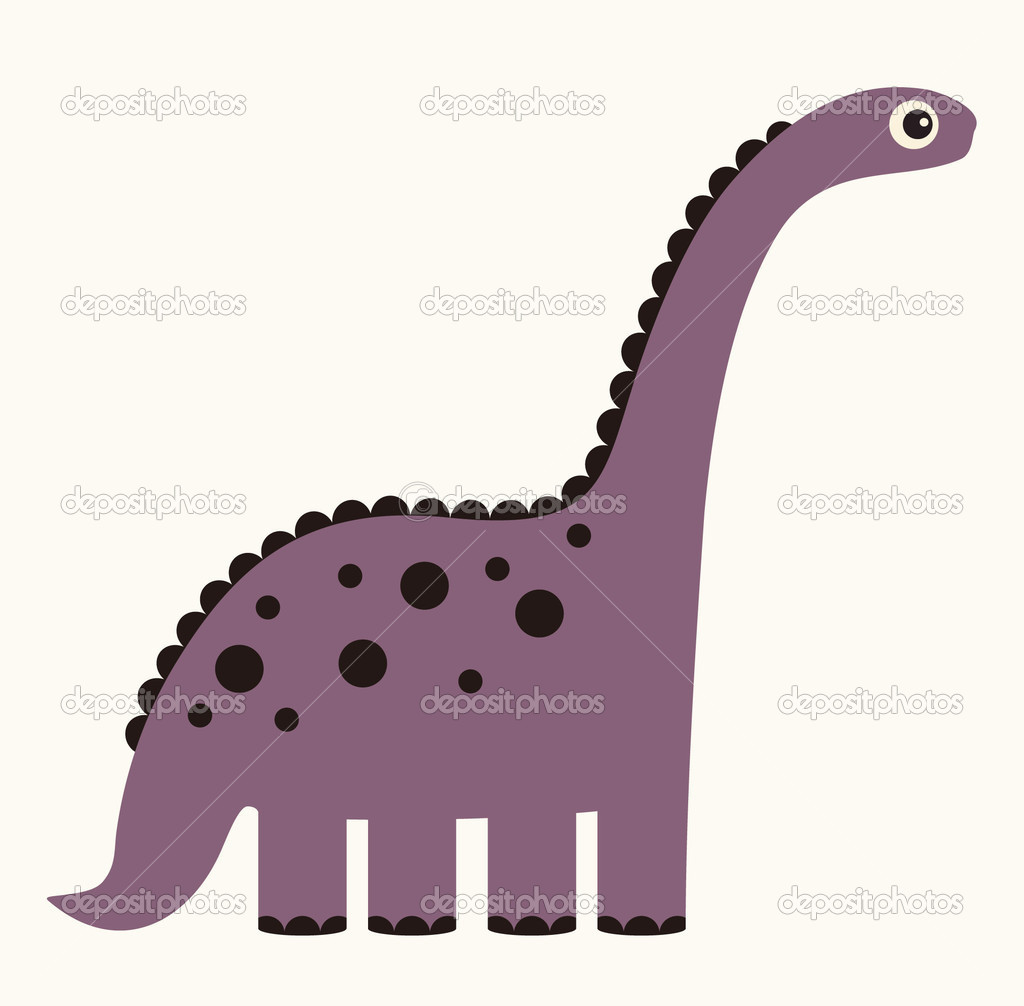Dinosaur Vector Illustration — Stock Vector #2042253
