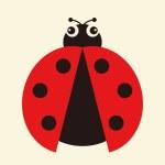 Vector illustration of a ladybug — Stock Vector #2089764