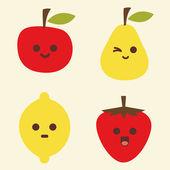Vector fruit — Stock Vector