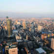 the aerial view of guangzhou — Stock Photo