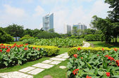 Shanghai city park — Stock Photo
