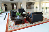 The spacious lobby of a company — Stock Photo