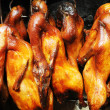 Chicken roasted on grill. — Stock Photo