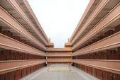 Shool dormitory building. — Stock Photo