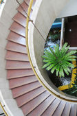 The spiral stair case — Stock Photo