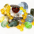 Stock Photo: Dzi Bead Treasure