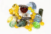 Dzi Bead Treasure — Stock Photo