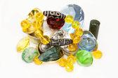 Dzi Bead Treasure — Stock Photo