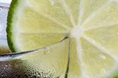 Lime Garnish — Stock Photo