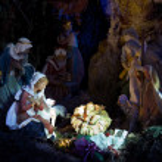 Nativity Night Scene — Stock Photo #2525134