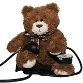 Dr. Teddy Bear — Stock Photo