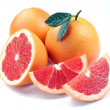 Постер, плакат: Grapefruit with segments