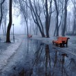 Benches and pools - Stockfoto