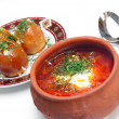Ukrainiborsch with sour cream — Foto Stock #2163085
