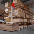 Warehouse of building materials - Stock Photo