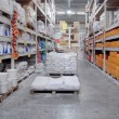 Warehouse shop of building materials - Stock Photo