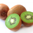 Ripe kiwi and segment — Stock Photo #2187652