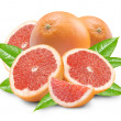 Grapefruit with segments — Stock Photo