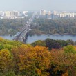 Panoramof Kiev and river Dnepr — Stock Photo #2190678