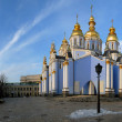Mihajlovsky cathedral in Kiev — Stock Photo #2238180