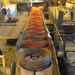 Stock Photo: Manufacture of steel wire