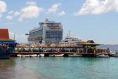 Restoran ve okyanus gemisi — Stok fotoğraf