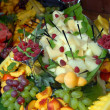 Stock Photo: Fruit on buffet table