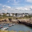 Fishing Village in northern France - Stock Photo