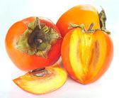 Ripe persimmon — Stock Photo