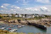 Pueblo de pescadores al norte de Francia — Foto de Stock